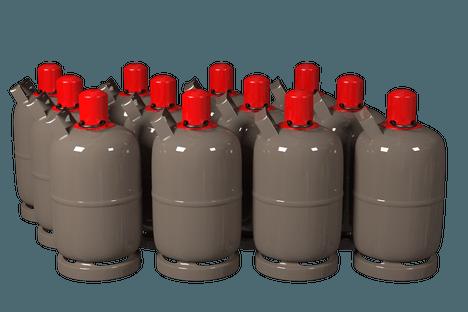 Propangasflaschen Raiffeisen Beckum eG