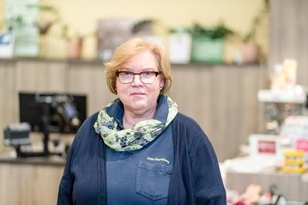 Gisela Romberg Haus-& Gartenmarkt Raiffeisen Beckum eG Oelde