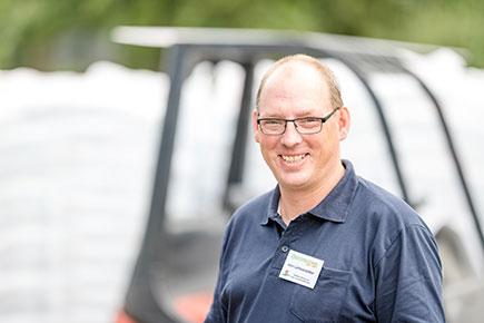 Stephan Lehmkötter Fachberater Erden, Dünger & Gartentechnik Raiffeisen Beckum eG
